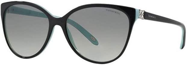Tiffany TF4089B 8055-3C Black TF4089B Cats Eyes Sunglasses Lens Category 2 Size