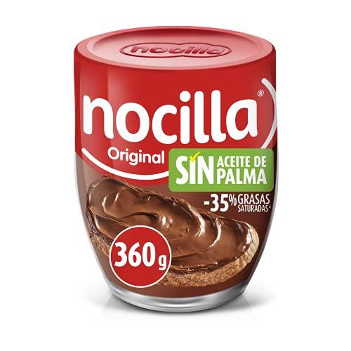 Nocilla Original Crema de Cacao, Sin Aceite de Palma, 360g