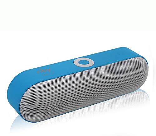ZWFS Bluetooth luidspreker voor in de vrije natuur beweegbare subwoofer auto draadloze Bluetooth Voice Call luidsprekers voor buiten Kaart Auto Mini Pille dubbele luidspreker kleine luidspreker