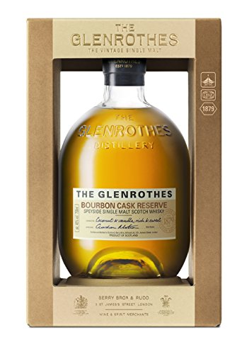 Glenrothes Cask Whisky Bourbon De Malta, 70 cl