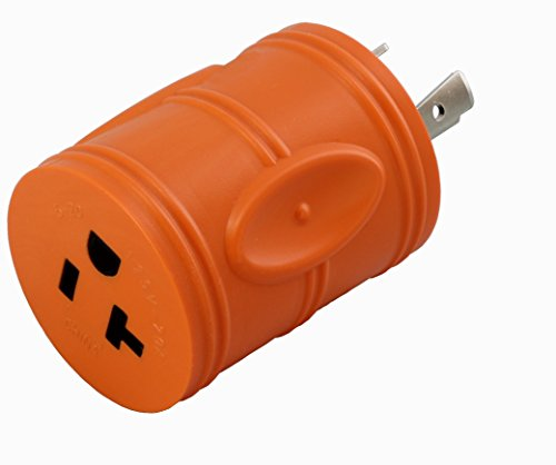 AC WORKS Shore Power Adapters (L5-20P 20A Locking to 15/20A Household)
