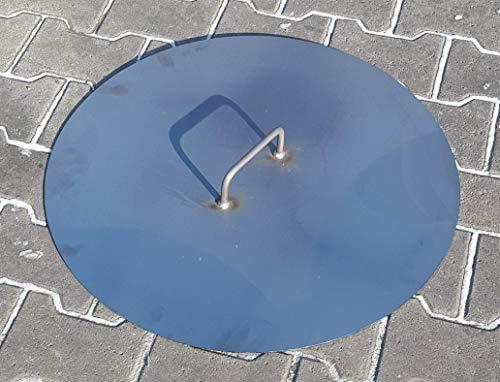 BM Deckel für Feuerschale Ø 60 cm aus Stahlblech