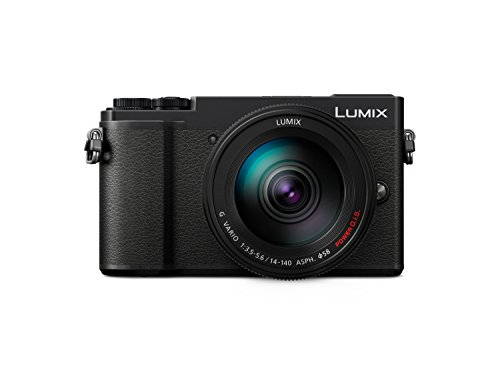 Panasonic Lumix GX9 Systeemcamera, Set van 14 – 140 mm, zwart