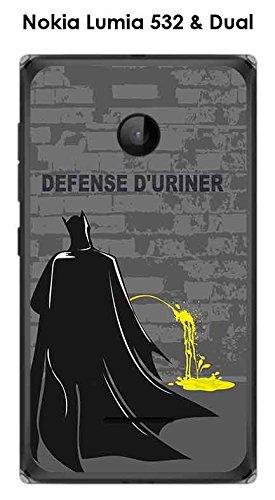 Onozo Cover per Nokia Lumia 532/Dual Motivo Batman