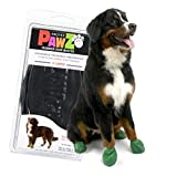 Pawz Dog Boots (X-Large)   Dog Paw Protection with Dog Rubber Booties   Dog Booties for Winter, Rain and Pavement Heat   Waterproof Dog Shoes for Clean Paws