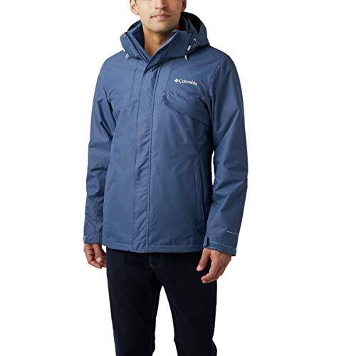 Columbia Men's Bugaboo Ii Fleece Interchange Jacket, Dark Mountain, Medium