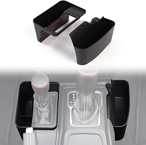 Alician Gear Cambio Box Center Console Storage Automatico Trasmissione Laterale Organizer Vassoio Accessori Interni per Jeep Wrangler JL JLU & 2020 Gladiator JT Accessori Auto