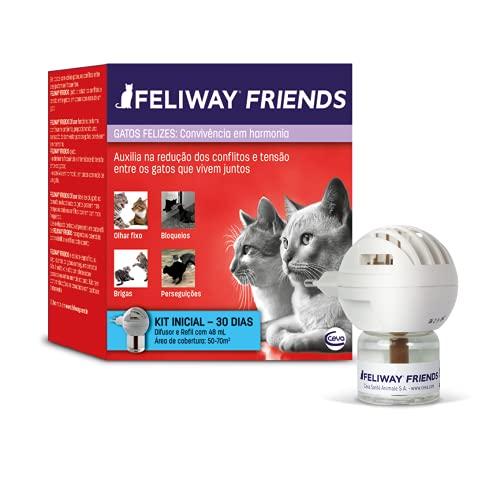 Difusor e Refil Feliway Friends Ceva para Gatos 48ml