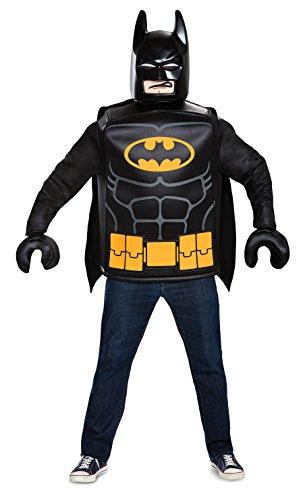 De Lego Batman Movie Volwassenen Klassieke kostuum Heren Superhero Outfit LEGO Batman Volwassenen Eén maat Lego Batman
