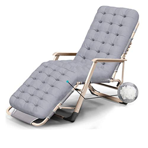 Gqmz Tragbar Relax Liegestuhl,Klappbar Und Verstellbar Sonnenliege Gartenliege,Geeignet für die Außen, Terrasse, Strand, Pool Usw.Relaxsessel Garten Liege Stuhl Relaxliege,E