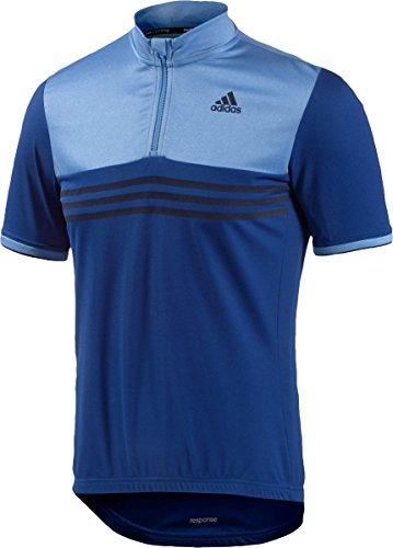 Adidas Response - Maillot SS Hombre - Azul Talla S 2015