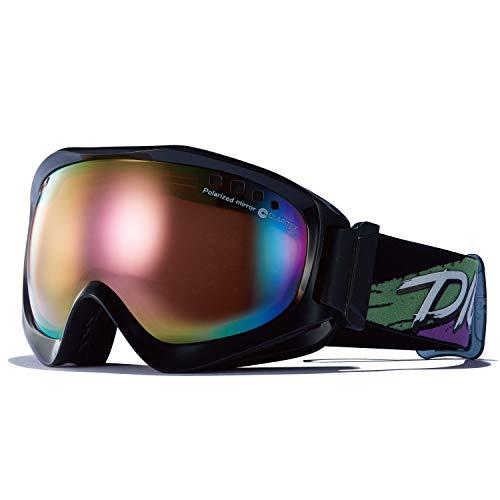 DICE(ダイス) スキー スノーボード ゴーグル JP01361BPR くもり止めゴーグル ジャックポット JACKPOT 偏光...