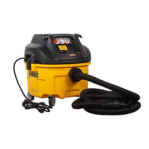 DeWalt Industrie Nass- und Trockensauger/ Bausauger (1,400 Watt, mit automatischer Filterreinigung, Klasse L, Zwei-Filter-System, inkl. AirLock-Adapter und Saugsack) DWV901L\\