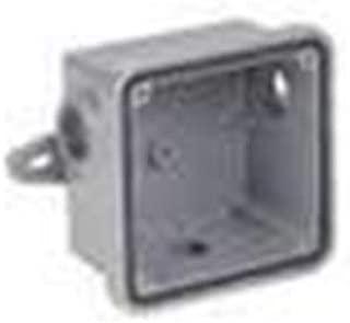 Federal Signal WB Weatherproof Back Box Housing Accessory, Gray