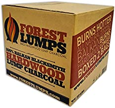 Forest Lumps Hardwood Charcoal 20 LB Box Contains 2-10 lb Bags