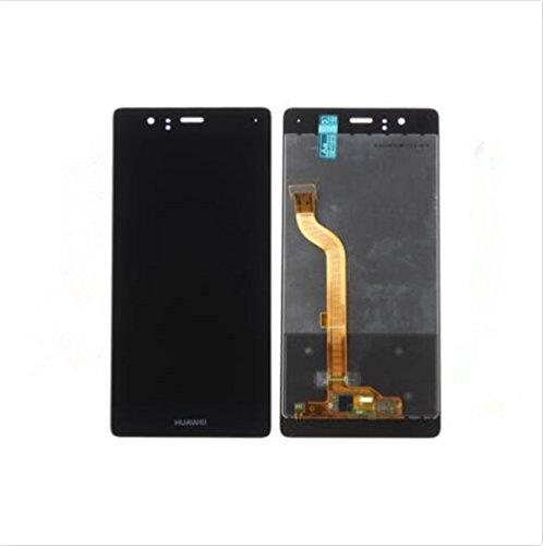 Huawei P9 Standard Display im Komplettset LCD Ersatz Für Touchscreen Glas Reparatur (Schwarz)