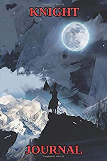 Knight Journal - Mountains - Moon - College Ruled