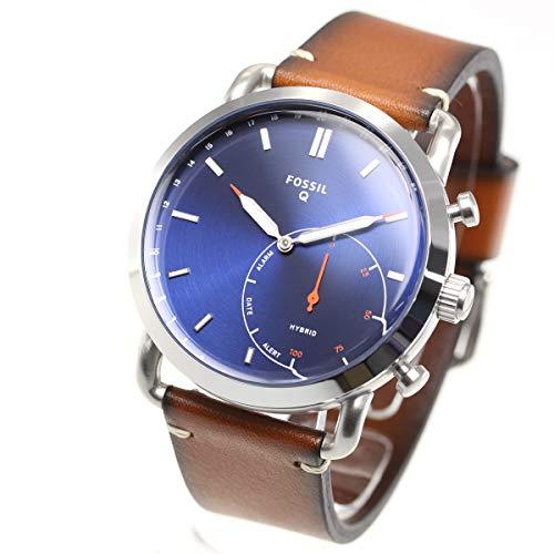 [フォッシル] 腕時計 Q COMMUTER ハイブリッドスマートウォッチ FTW1151 メンズ 正規輸入品