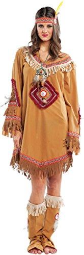 chiber - Navaho Indianerin Kostüm Damen (XL - XLarge)