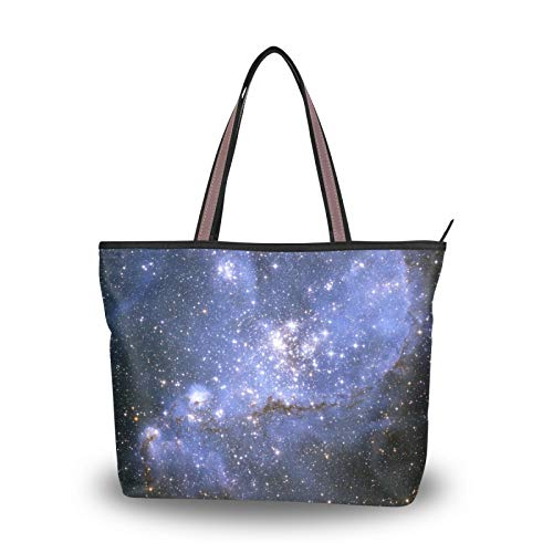 Nebula Galaxy para madre, mujer, niñas, señoras, estudiantes, bolsos de hombro, bolso...