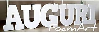 Lettere grandi giganti in polistirolo - Big letters scritte nomi giganti in polistirolo - @FoamArtitaly -