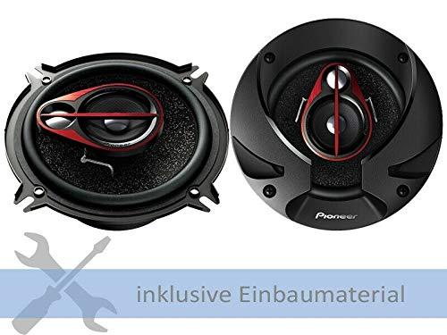 Pioneer Lautsprecher TSR1750s 500 Watt 165 mm 3 Wege Koax für Hyundai i20 alle Einbauort: Türen vorne/hinten