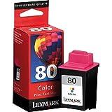 Lexmark 80Colour Print Cartridge cartucho d tinta
