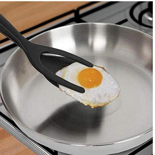 Lankater Grip E Flip Spatola, per Perfect Pancake French Toast E Frittata Fare Silicone Accessori Cucina D'