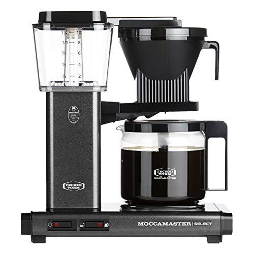Moccamaster Filter Kaffeemaschine KBG Select, 1.25 Liter, 1520 W, Stone Grey