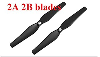 2A 2B BLADES  PROTOCOL RC PARTS FOR Galileo Stealth 6182-  CHECK SECOND PICTURE ABOUT DRONE