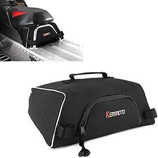 kemimoto Snowmobile UnderSeat Bag, Water-resistant Large Capacity Snowmobile Storage Bags Fits Polaris Indy 550 600 800 RMK 800 Pro RMK 600, OEM 2876427
