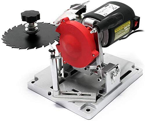 Afilador de hoja de sierra circular de banco eléctrico de 110w