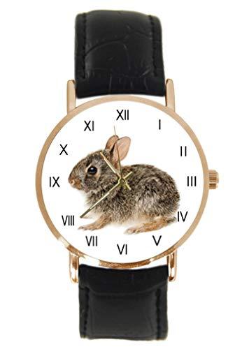 Reloj de Pulsera para bebé de Cottontail, Conejo, clásico, Unisex, analógico, de...