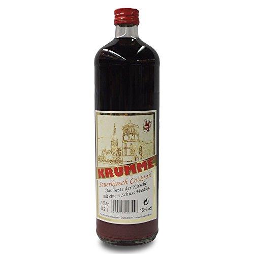 Krumme Sauerkirschlikör mit 15% Vol. (0,7l Flasche)