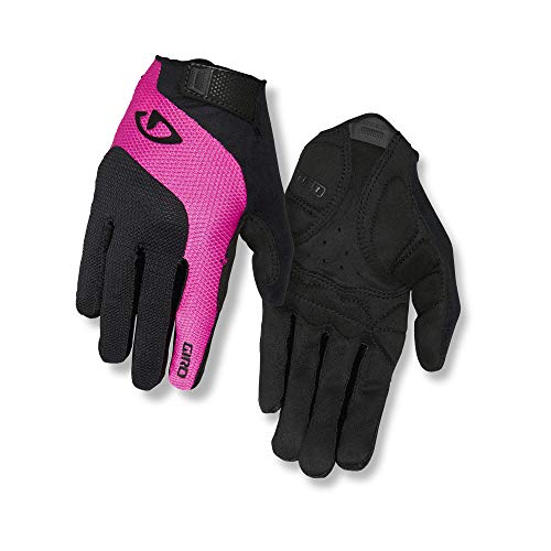 Giro Damen Tessa Gel LF Fahrradhandschuhe, Black/pink, S