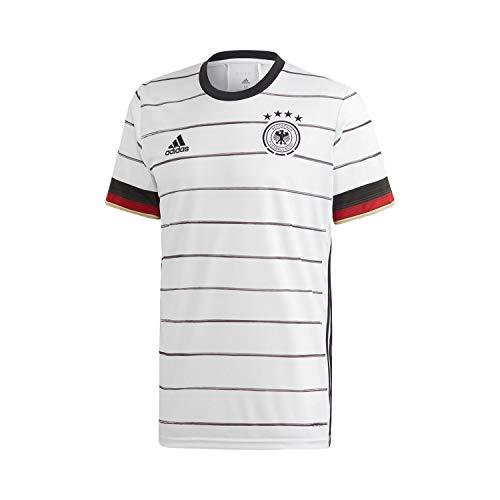 adidas DFB H JSY T Shirt, Hombre, WhiteBlack, XS