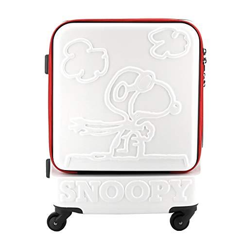 [スヌーピー] スーツケース ピーナッツ 38L 47cm 3.6kg PN-014 トリコロール