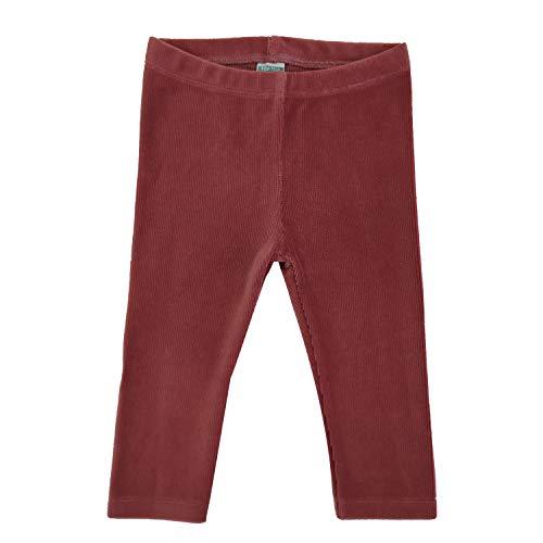 Top Top ERABITO Leggings, Rojo (Rojo 400), 80 (Tamaño del Fabricante:12-18) para...