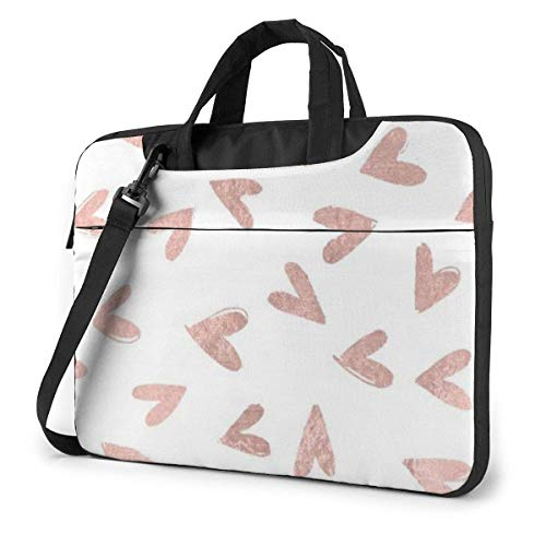 Sweet Haert Laptop Bag 15.6 Inch Shoulder Messenger Bag Computer Tote Briefcase for Work School