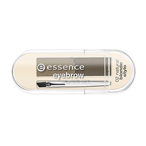 essence - Augenbrauen Set - eyebrow stylist set - 02 natural blonde style