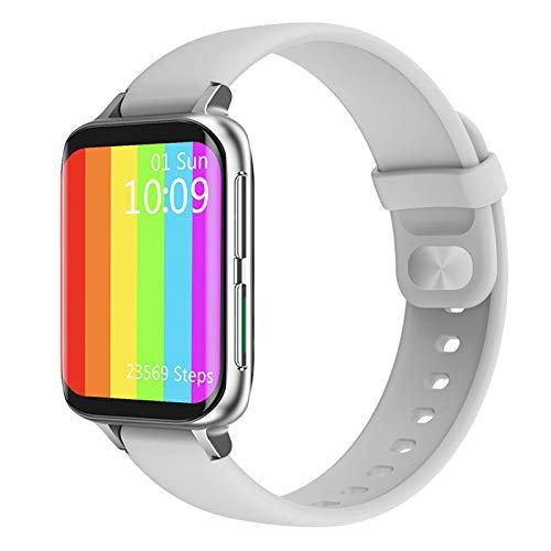 JXFF Hombres y Mujeres SmartWatch DT93 Función MP3 Llamada Bluetooth 420 * 485 ECG Smart Watch con Estilo 1.78 Pulgadas DT93 Smartwatch para Android iOS,C