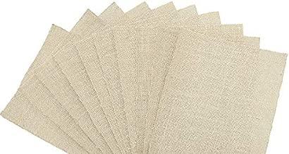 Sacco Natural Jute A4 Sheets 10 (Beige)