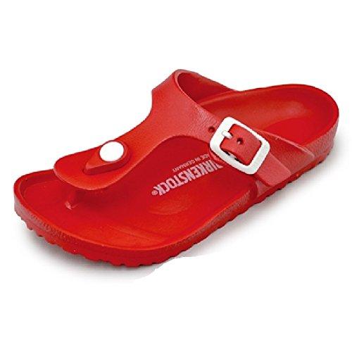 ビルケンシュトック キッズ サンダル GIZEH EVA KIDS ギゼ トングサンダル 子供靴 正規品 こども ジュニア ビルケン 鼻緒タイプ ナロー 幅狭 BIRKENSTOCK gizeh レッド ブラック ネイビー ホワイト 軽量 (32(20.5