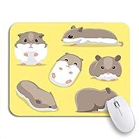 可愛いマウスパッド パターンクリスマスユニコーンメリーレインボーコスモススペースかわいい子供ノンスリップラバーバッキングコンピュータマウスパッド用ノートブックマウスマット