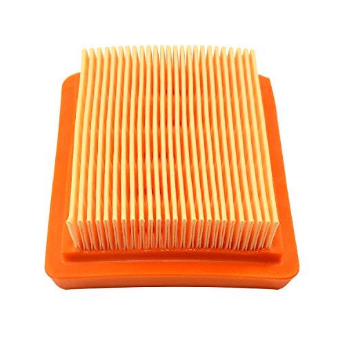 HQRP Élément de filtre à air compatible avec Husqvarna 521642101/521 64 21-01 pour Husqvarna 243R 243RJ 253R 253RB 253RJ 543RS 553RBX 553RS Coupe-bordure, Mètre du Soleil