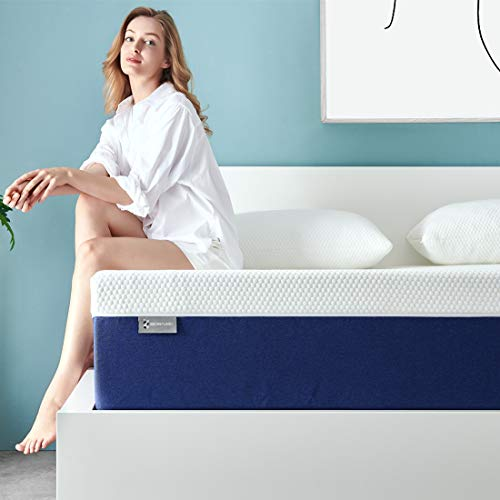 Twin Mattress, Ssecretland 10 Inch Premium Gel Multi Layered Memory Foam Bed Mattress in a Box with CertiPUR-US Certified Foam for Pressure Relief, Twin Size,Breathable, Easy Set-Up