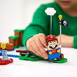 Amazon.co.jp - レゴ スーパーマリオ レゴマリオとぼうけんのはじまり 〜 スターターセット 71360