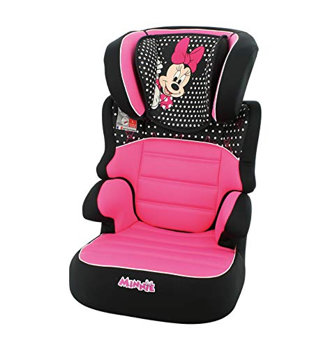 Silla de coche elevador BEFIX grupo 2/3 (15-36kg) - 4 estrellas ADAC -Minnie Disney luxe
