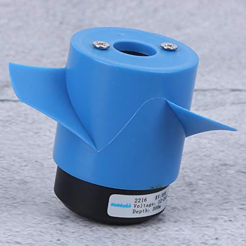 SALUTUYA Propulsore subacqueo 5000Kv Propulsore antiruggine per Motore da 500Kv con elica da 60 mm Propulsore subacqueo RC(Reverse)