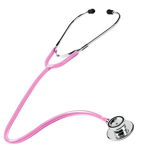 NCD Medical/Prestige Medical S108-HPK Doppelkopf-Stethoskop, Hot Pink